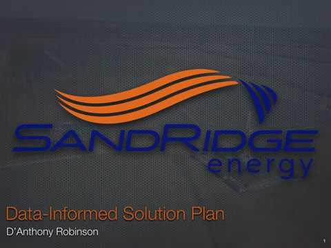 Sandridge Energy Capstone Presentation