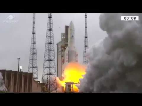 ISRO Successfully launches GSAT31 Satellite from French Guyana
