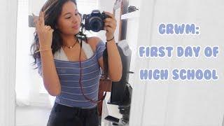 GRWM FIRST DAY OF SCHOOL (freshman edition)