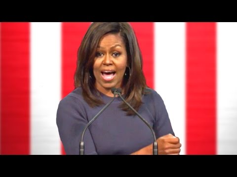 Michelle Obama's Emotional Speech on Donald Trump