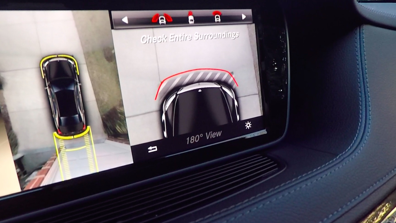 The Best Back-Up Camera You've Ever Seen | Mercedes S ...