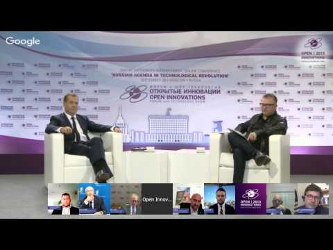 'Russian Agenda in Technological Revolution' Dmitry Medvedev