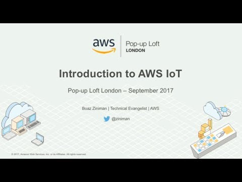 Live from the London Loft | Intro to AWS IoT