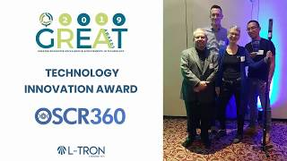L-Tron's OSCR360 Wins Technology Innovation Award from TechRochester
