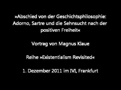 Magnus Klaue: Abschied von der Geschichtsphilosophie