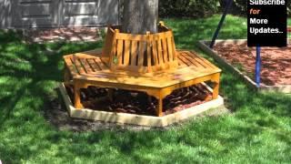Tree Benches | Tree Bench Design Ideas | Bench Around Trees