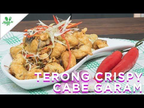 Resep Terong Crispy Cabai Garam
