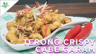 Resep Terong Crispy Cabai Garam Youtube