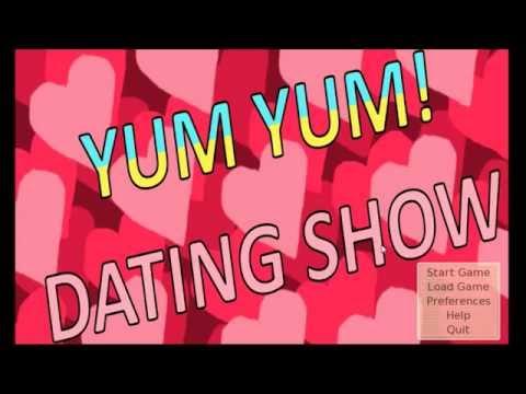 yum yum dating show walkthrough