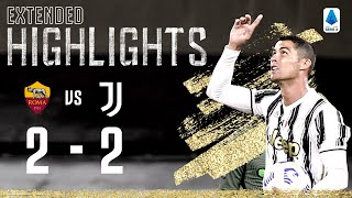 Roma 2-2 Juventus | Two Ronaldo Goals as Juventus Come back Twice! | EXTENDED Highlights