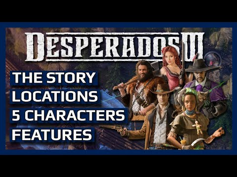 Desperados 3 Everything You Need To Know Youtube