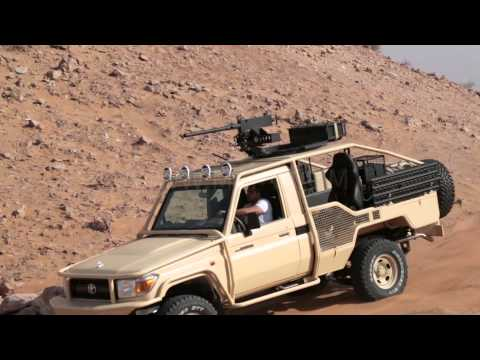 Army / Police Patroling Vehicle | Toyota Land Cruiser 79 | UAE | Egypt | Africa | India | Jordan