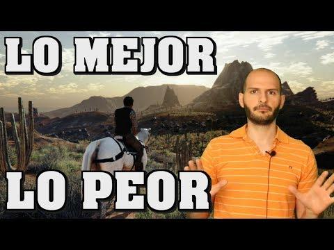 LO MEJOR Y LO PEOR DE RED DEAD REDEMPTION 2 GAMEPLAY TRAILER - Sasel - Rockstar - ps4 - español