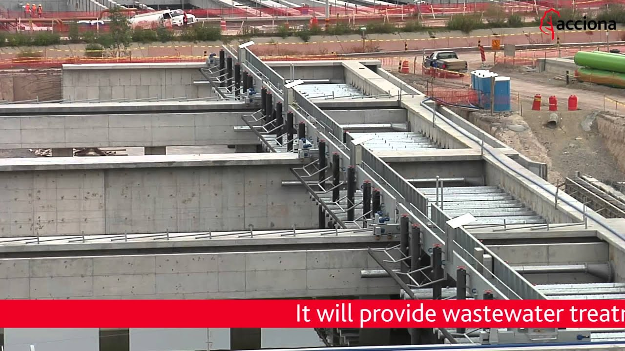 Construction on the Atotonilco WWTP is 35% complete