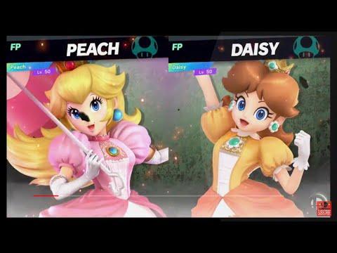 Super Smash Bros Ultimate Amiibo Fights  Request #2205 Peach vs Daisy thumbnail