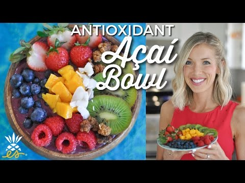 Antioxidant Açaí Bowl: A Raw Vegan Superfood Breakfast of Champions