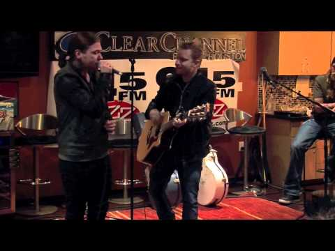 Shinedown performs Second Chance in the 945 The Buzz studio