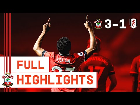 HIGHLIGHTS: Southampton 3-1 Fulham | Premier League
