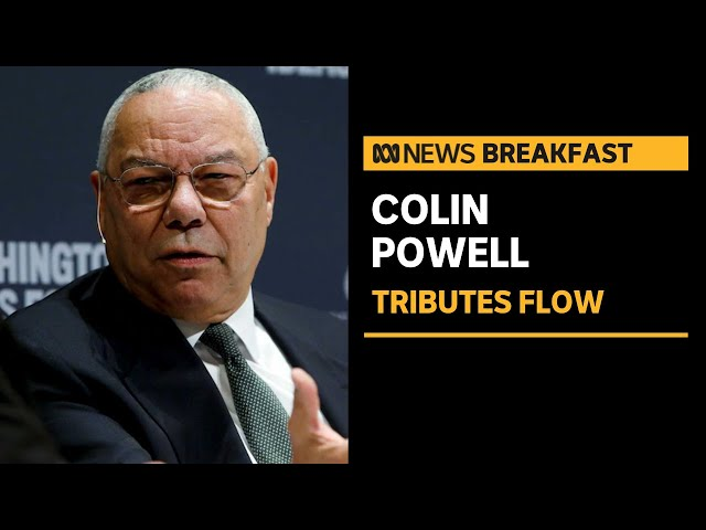 Colin Powell, former US Secretary of State, dies with COVID-19 complications | ABC News