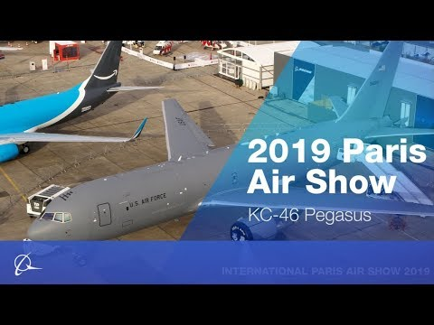 KC-46A Tanker at Paris Air Show