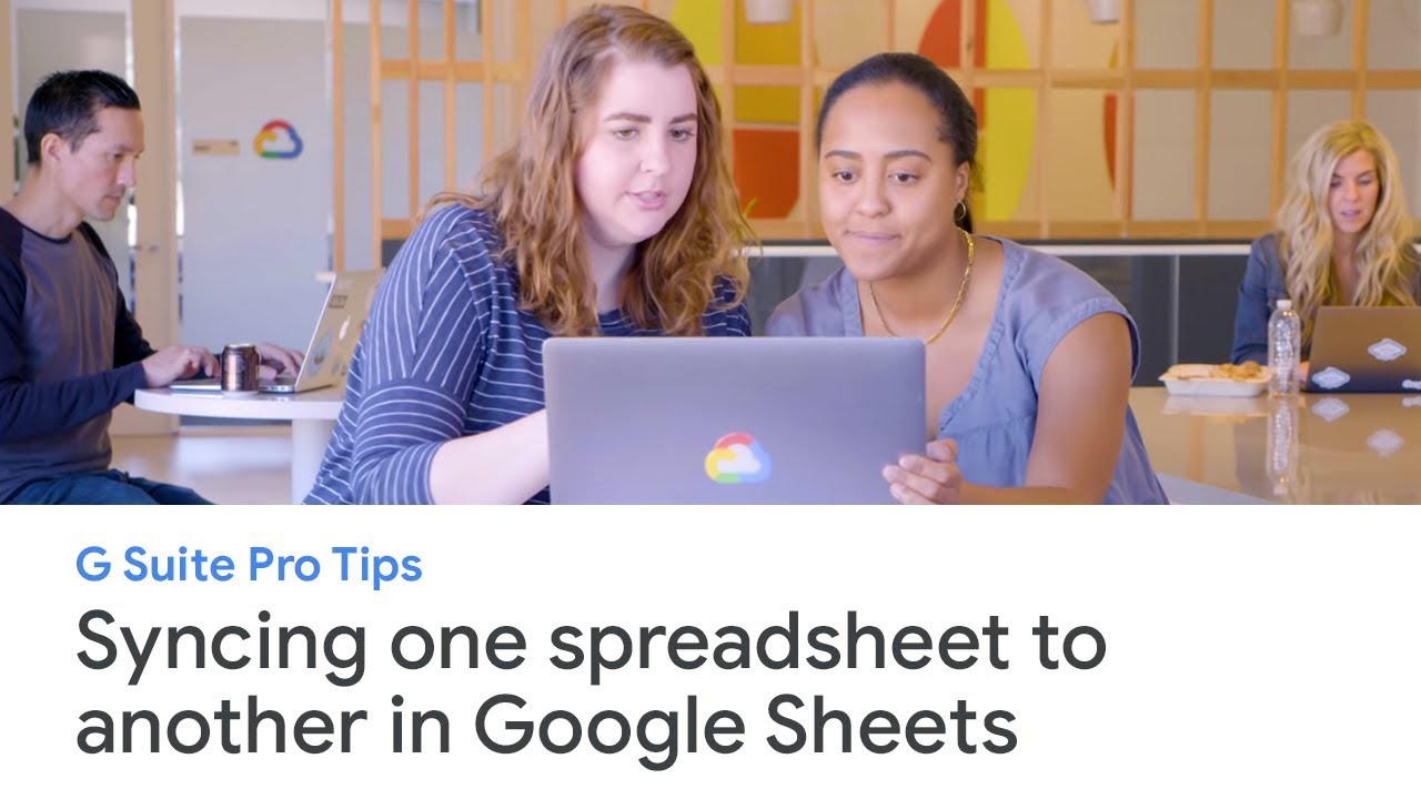 G Suite Pro Tips: how to sync one spreadsheet to another in