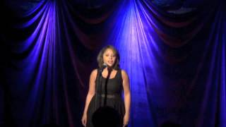 Amanda Gonzales singing ' Fabulous Baby'