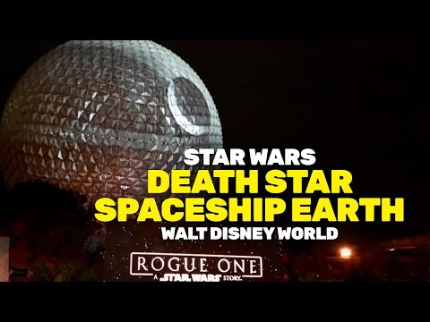 Death Star appears at Walt Disney World, transforming Spaceship Earth at Epcot