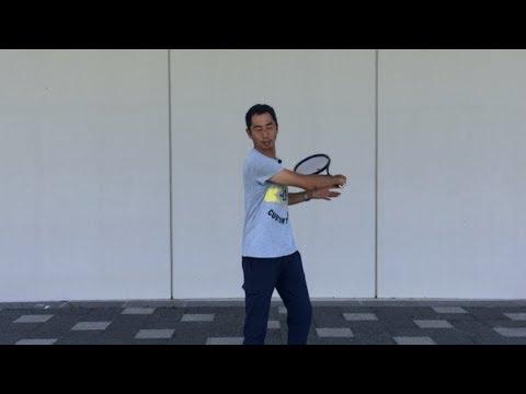 テニス フォアハンドストロークの首の動き 窪田テニス教室