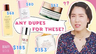 Affordable Dupes for Most POPULAR Skincare Brands: Fresh, Biossance, The INKEY List & More!