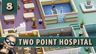 Let's Play Two Point Hospital - All Star Lower Bullocks - Part 8