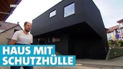 Hypermodern wohnen: Das schwarze Haus von Möhringen