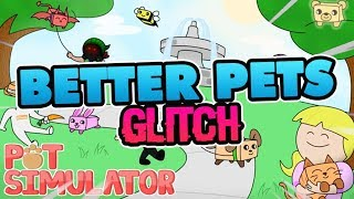 [Roblox] Pet Simulator: HOW TO GET BETTER PETS GLITCH! (EXTREMELY POWERFULL NO HACK)