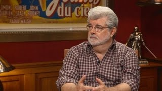 Repeat youtube video Part 1: George Lucas & Kathleen Kennedy Discuss Disney and the Future of Star Wars