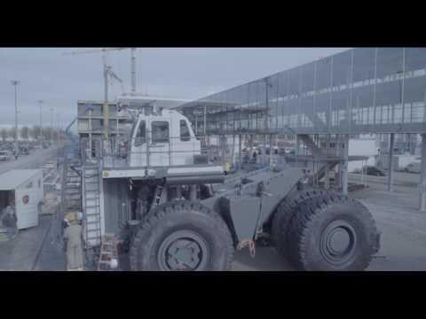 Liebherr - Relive The Mining Equipment Set Up BAUMA2016