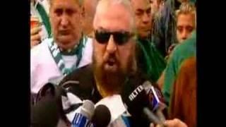 τηλεαστυ ρεπορταζ για το συλλαλητηριο των φιλαθλων του παο