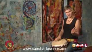 Learn Djembe Online - Fankani, djembe 1