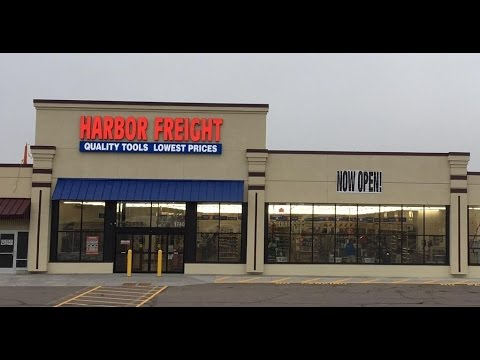 Visiting Harbor Freight / Tools and Tool Boxes