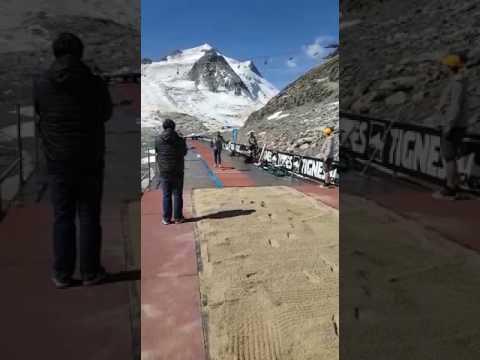 Luvo soek wêreldrekord in Franse Alpe