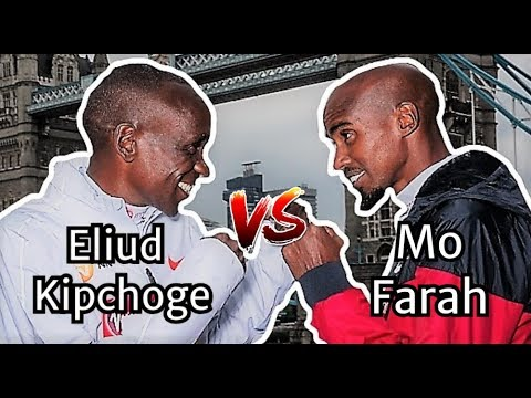 ELIUD KIPCHOGE VS. MO FARAH || THE LONDON MARATHON 2019 || WHO WILL WIN?