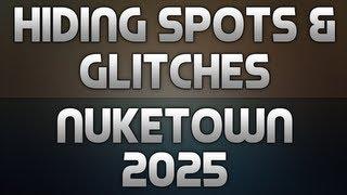 BO2: Hiding Spots + Glitches on Nuketown 2025