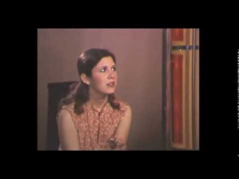 Old Carrie Fisher Interview - Star Wars - 1977