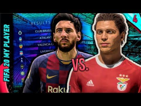 LIONEL MESSI Vs. RAFAEL RUIS! | FIFA 20 My Player Career Mode W/Storylines | Episode #4