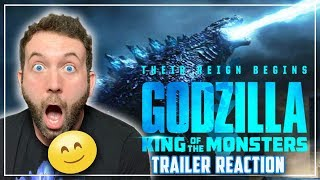 Godzilla King Of The Monsters - Final Trailer Reaction