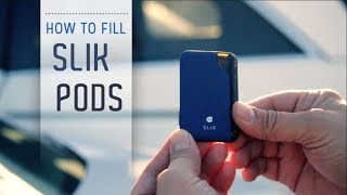 SLIK By ALUR Pod: How To Fill | ecsupplyinc.com