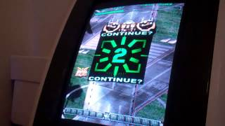 First two credits on Ketsui Arrange (PCB) in a TAITO EGRET II
