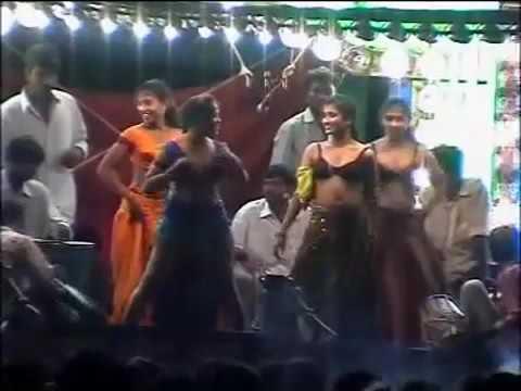 Andhra Village Hot Recording Dance Show | Telugu Stage Show Video
