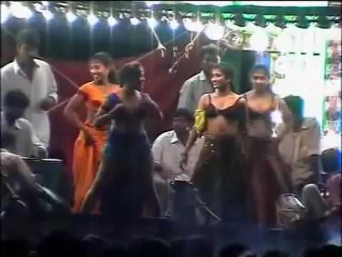Andhra Village Hot Recording Dance Show | Telugu Stage Show Video