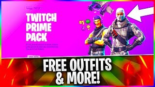 "How To Get Fortnite ""TWITCH PRIME PACK"" For FREE! Fortnite ""HAVOC"" Outfit & ""SUB COMMANDER"" Outfit!"