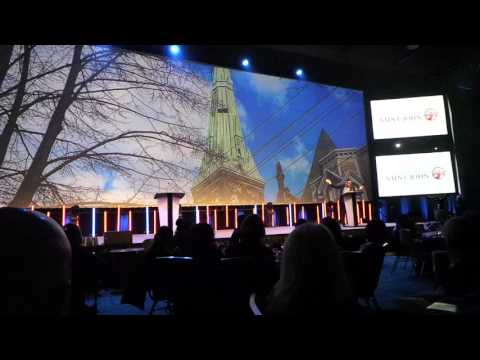 Discover Saint John presents at 2016 MPI Gala Dinner and Auction featuring James Mullinger