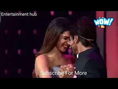 63rd jio filmfare awards 2018  Shahrukh Khan, Karan Johar and Deepika Padukone fun